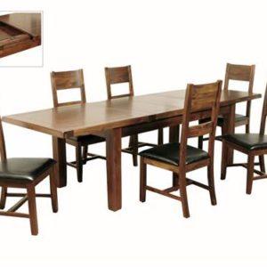 Roscrea large extending dining set-0