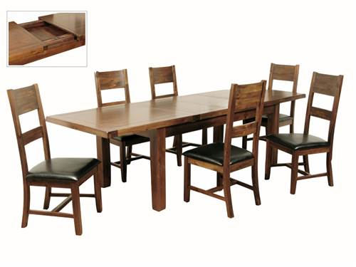 Roscrea large extending dining set-0