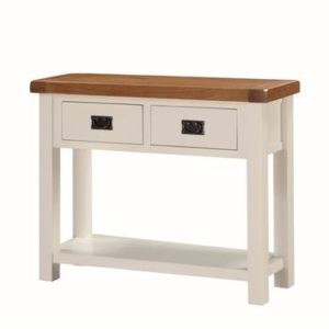 Heritage painted oak hall table-0