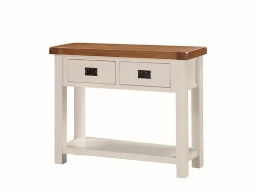 Heritage painted oak hall table-0