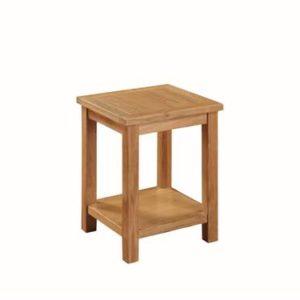 Hartford Light Oak end table-0