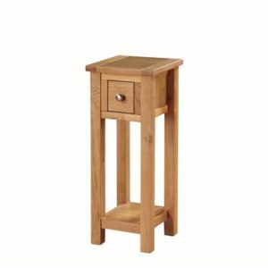 Hartford Light Oak telephone table-0
