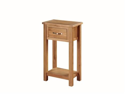 Hartford Light Oak medium hall table-0