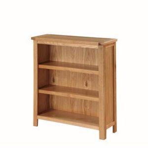 Hartford Light Oak low bookcase-0