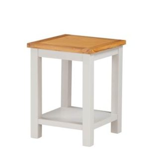 Hartford Painted Oak end table-0