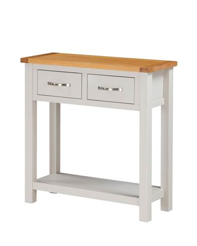 Hartford Painted Oak large hall table-0