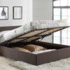 Berlin fabric ottoman bed-2915