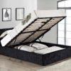 Berlin fabric ottoman bed-2914