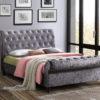 Castello 4'6 sleigh bed-0