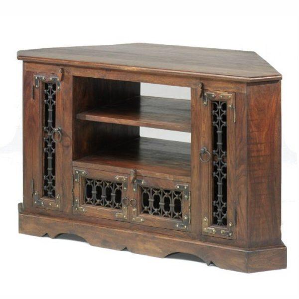 jali large corner tv cabinet-0