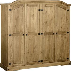 Corona 4 door wardrobe-0