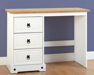 Corona white/pine dressing table-0