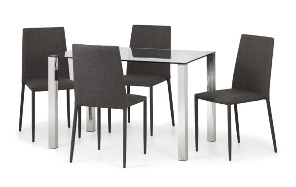Enzo glass dining set-0