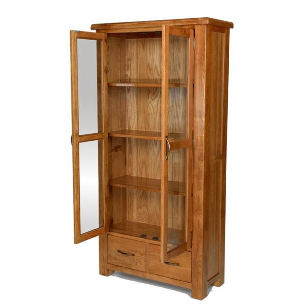 Earlswood glazed display cabinet-0