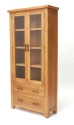 Hampshire oak 2 door glazed unit-0