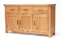 Hampshire oak large sideboard-0