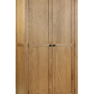 Marlborough Oak 2 door wardrobe-0