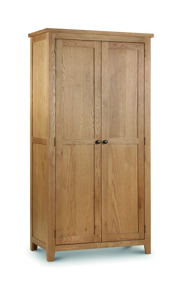 Marlborough Oak 2 door wardrobe-0