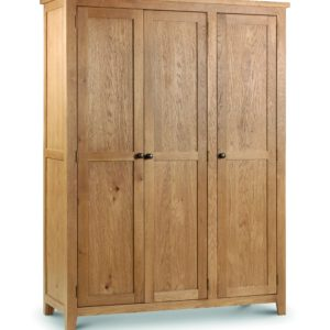 Marlborough Oak 3 door wardrobe-0