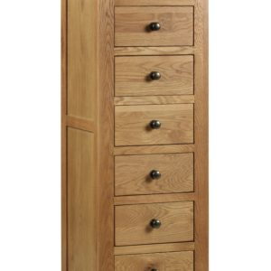 Marlborough Oak 7 drawer chest-0