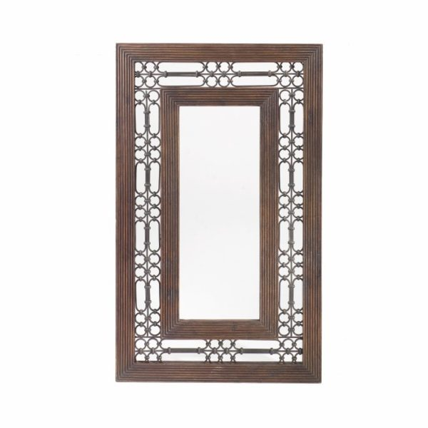 jali rectangle mirror-0