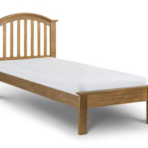 Olivia 3' oak finish bedframe-0