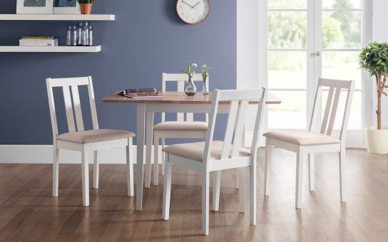 Ruffles extending dining set-3660