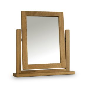 Marlborough Oak dressing table mirror-0