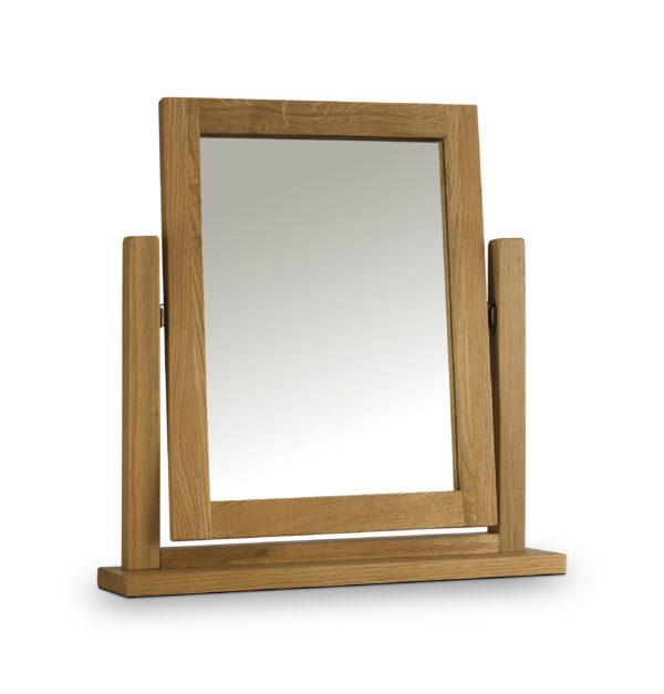 Marlborough Oak dressing table mirror-0