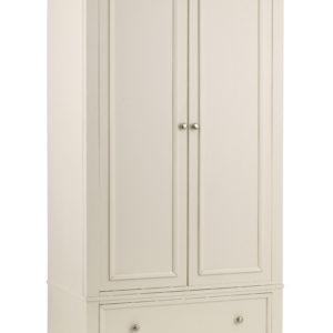 Portland dressing 2 door 1 drawer wardrobe-0