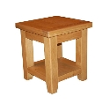 Hampshire oak lamp table-0