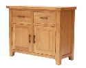 Hampshire oak small sideboard-0
