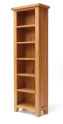Hampshire oak slim bookcase-0