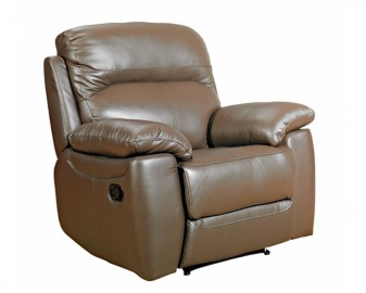 Aston leather recliner-0