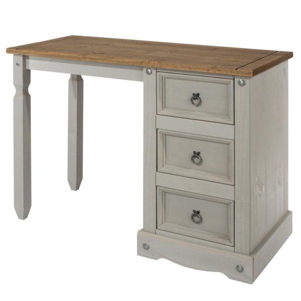 Corona Greywash dressing table-0