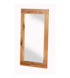 Cherbourg Oak wall mirror-0