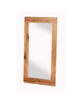 Cherbourg Oak wall mirror-0