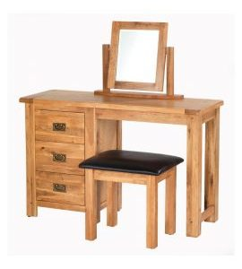 Cherbourg Oak dressing table set-0