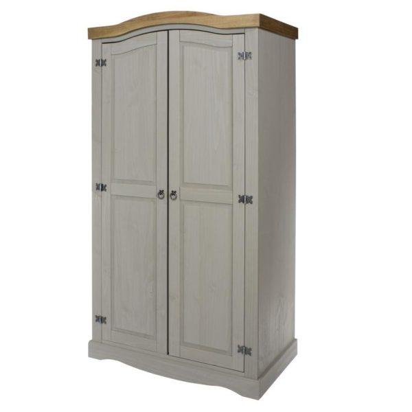Corona Greywash 2 door robe-0