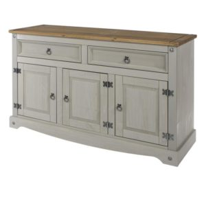 Corona Greywash medium sideboard-0