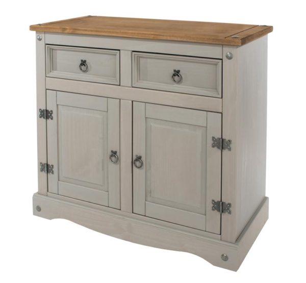 Corona Greywash small sideboard-0