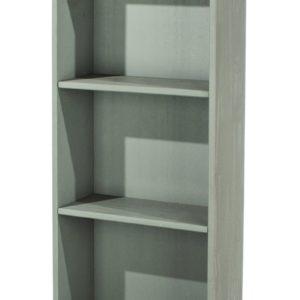 Corona Greywash tall narrow bookcase-0