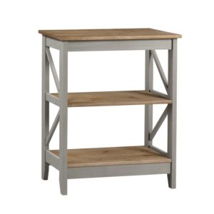 Corona Greywash 3 tier shelf unit-0