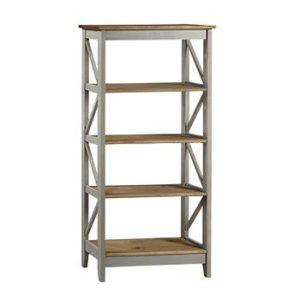 Corona Greywash 5 tier shelf unit-0