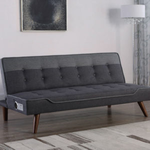Nashville sofa bed with Bluetooth speaker-0
