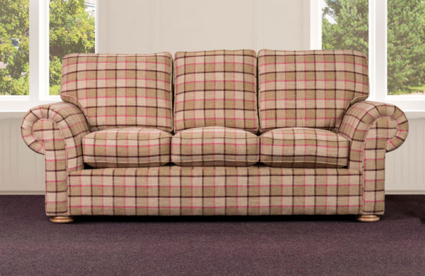Stranraer 3 seater sofa bed-0