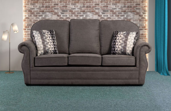 Winchester 3 seater sofa bed-3179