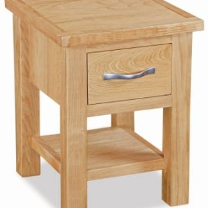 Trinity Petite Oak lamp table-0