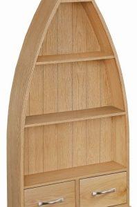 Trinity Petite Oak boat bookcase-0