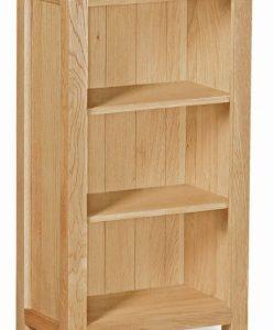 Trinity Petite Oak mini bookcase-0